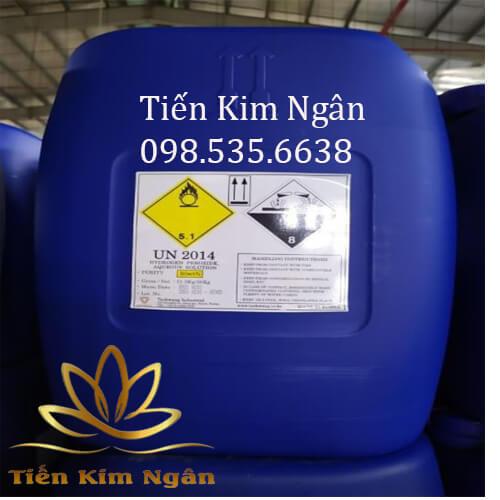 Oxy già công nghiệp H2O2 khử trùng nước